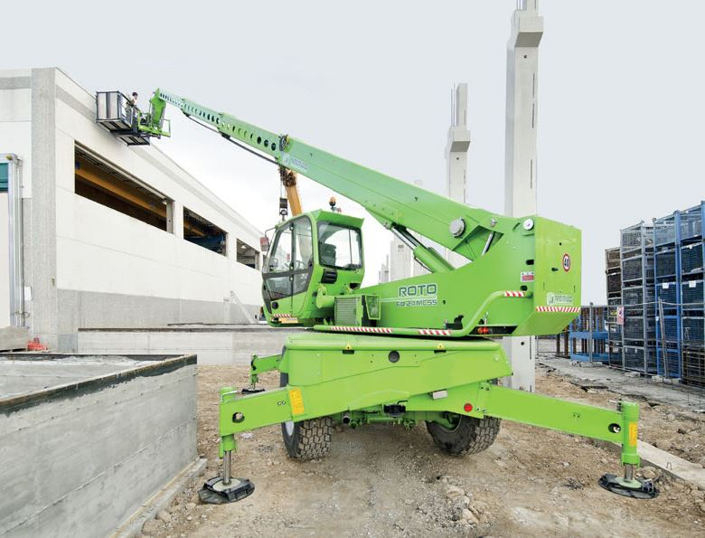 Merlo Telehandlers - Roto Materials Handling Machinery