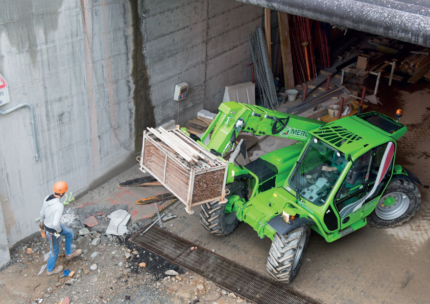 Merlo Compacts Telehandlers for Construction