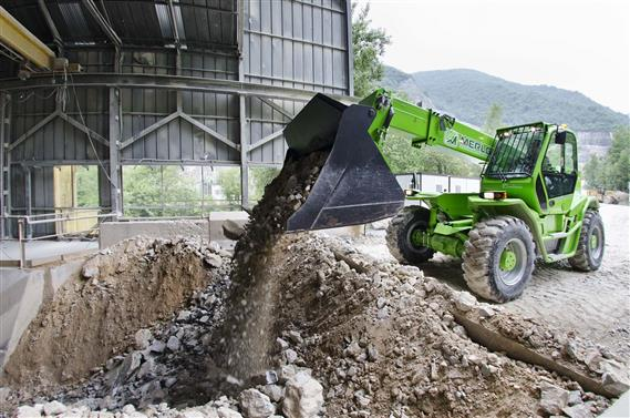 Merlo Panoramic HM Telehandlers for the Construction Industry